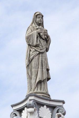 Statue in the Basilica del Santo Nino. Cebu, Philippines.