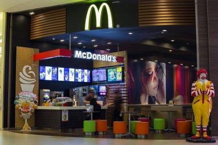 McDonalds restaurant in Siam Paragon