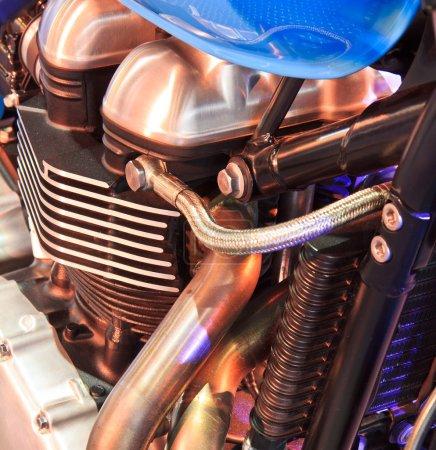 Modern Motorcycle engine