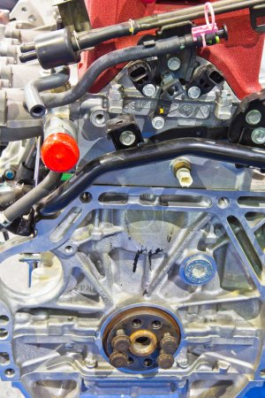 Engine of modern car