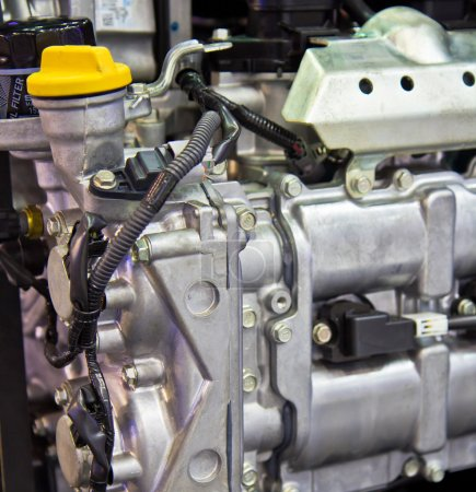 Engine of modern car