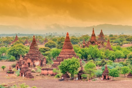 Old Pagoda in Bagan city