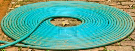 Rubber tube water