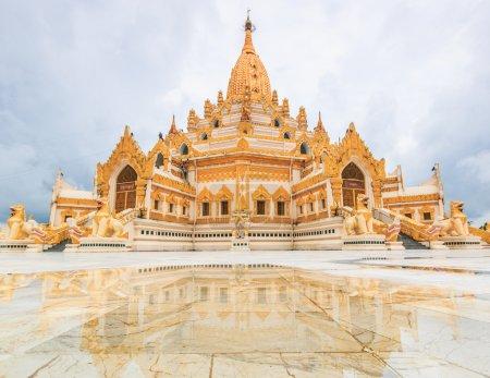 Temple Swedaw Myat in Yangon, Myanmar (Burma)