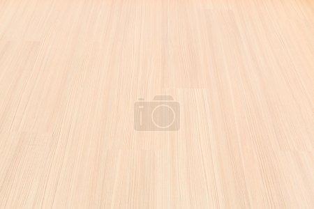 Photo pour Chambre vide avec mur et plancher en bois stratifié fond - image libre de droit