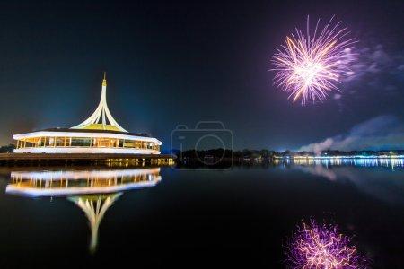 Fireworks at Suan Luang Rama IX