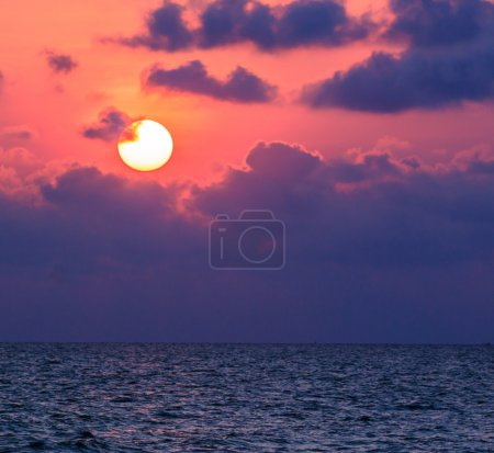 Photo for Sea sunset in Thailand - Royalty Free Image