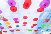 Paper umbrellas in  Thailand