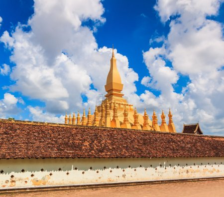 Wat Thap Luang in Vientiane