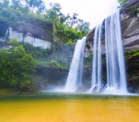 Huai Luang Waterfall  in Thailand