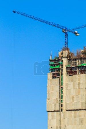chantier de construction industrielle