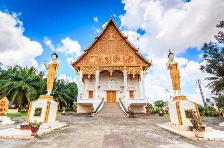 Buddha temple Vientiane