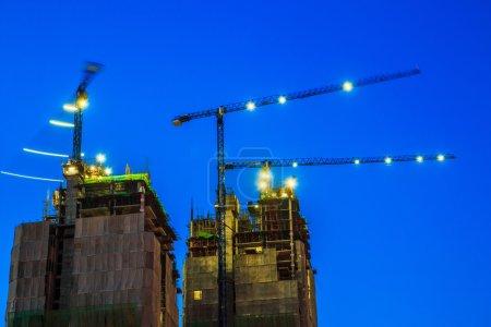 Photo pour Projet de chantier industriel - image libre de droit