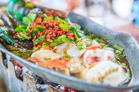Tom Yum Seafood Thailand Food