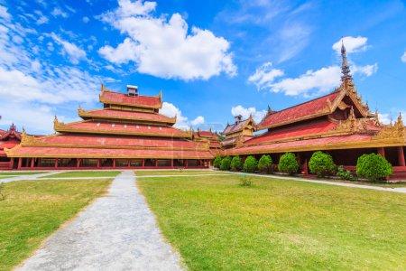 Palais de Mandalay à Mandalay