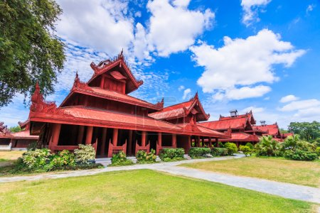 Mandalay palace at Mandalay