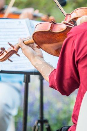 musician Playing music
