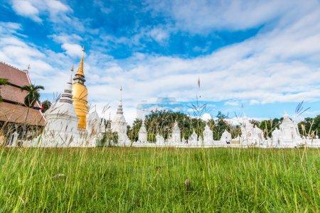 Wat Suan Dok Golden pagoda