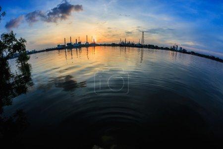Oil refinery plant at Bangkok