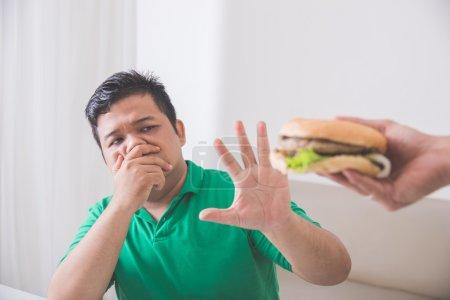 stop eating unhealthy junk food