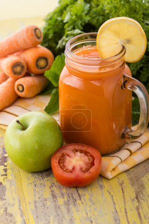 Apple, Carrot and Tomato juice