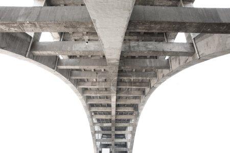 Under-face of a bridge, contruction