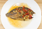 Smažené ryby s chilli omáčkou
