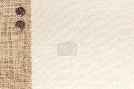 Tissu et toile de jute