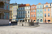 Proserpinas fountain, old Market Square at Stary Rynek. Poznan