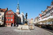 Sculpture of Apollo, Old Market Square. Poznan
