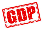 GDP red stamp text