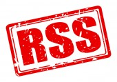 Rss red stamp text