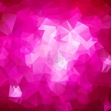 Illustration for Abstract triangle pink texture background - Royalty Free Image