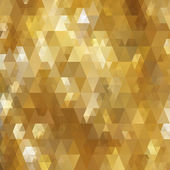 Abstract triangle gold texture