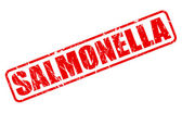 SALMONELLA red stamp text