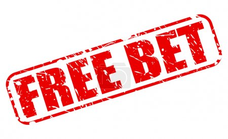 FREE BET red stamp text