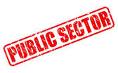 PUBLIC SECTOR red stamp text