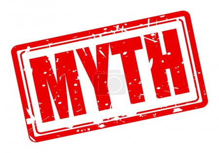 MYTH red stamp text