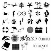 30 Summer icon set