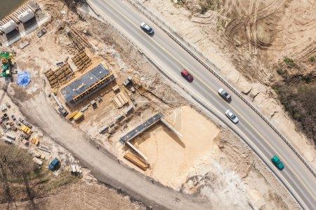 bridge building site