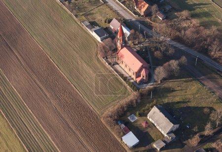 Christian church in Strzyzew village