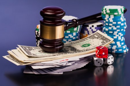 justice and gambling money