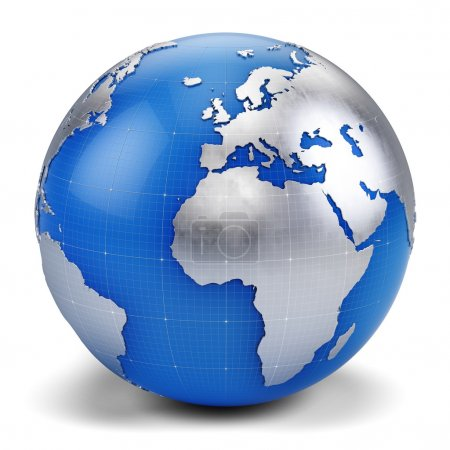 Photo for 3d globe icon 3d render - Royalty Free Image