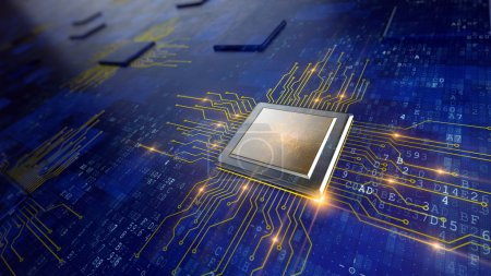 Photo for Central Computer Processors CPU concept - Royalty Free Image