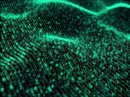 Waves of digital information