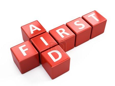 First Aid cubes
