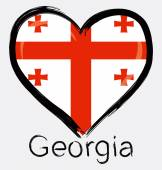 Love Georgia flag