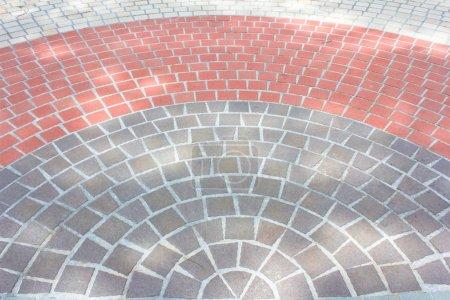 Details of circle design stone