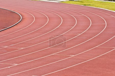 Athletics Stadium Running track rubber