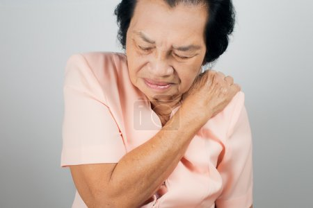 Shoulder Pain In An Elderly Person...
